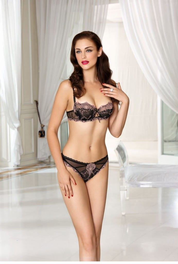 Lise Charmel Apprivoise-Moi - Half Cup Bra and Brief