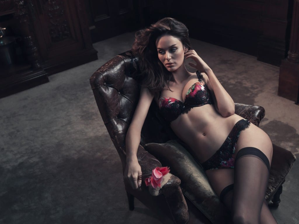 Pleasure State Couture - Camelia Rose, perfect silk lingerie.