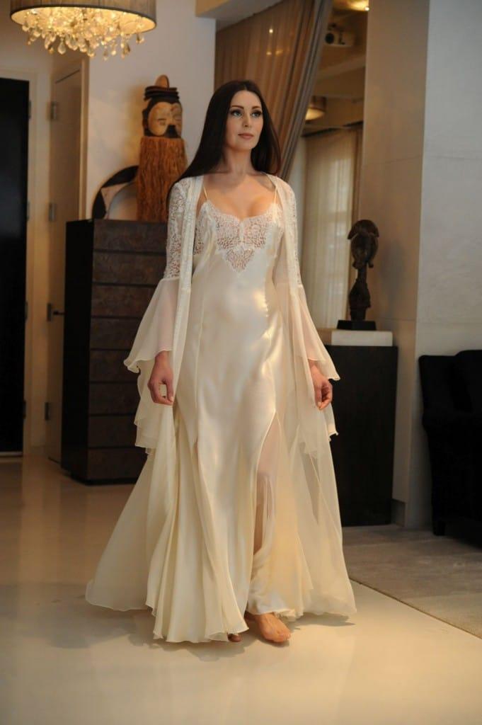 Jane Woolrich Silk Nightwear