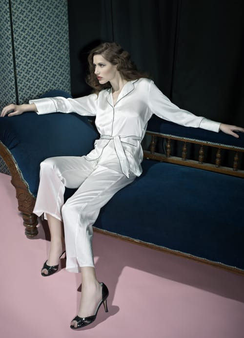 Julianne London Silk Nightwear