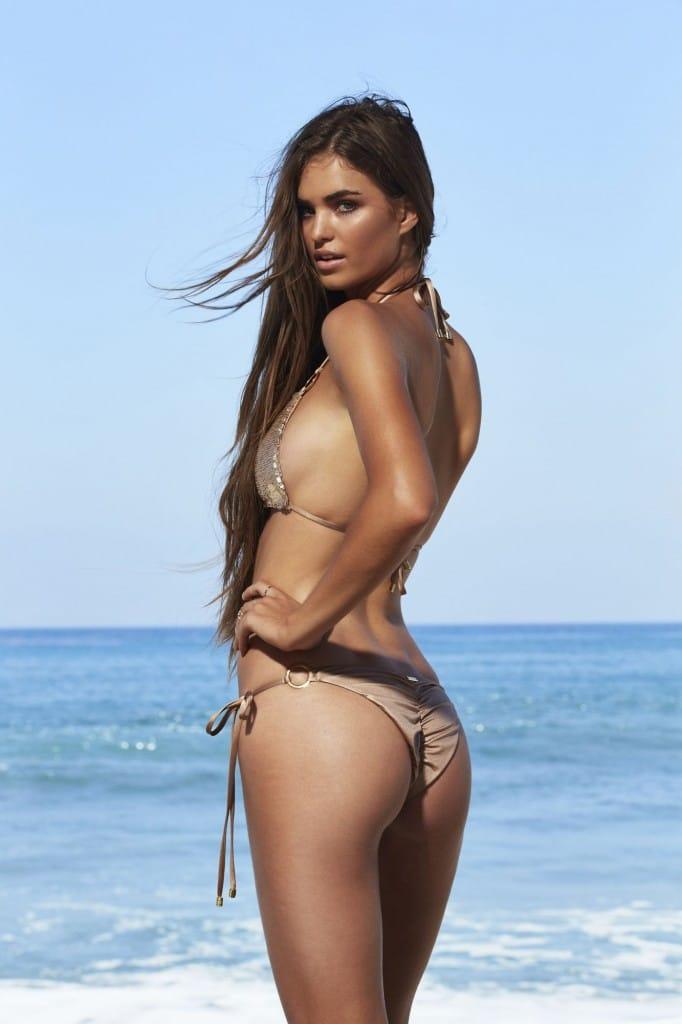 Beach Bunny Bikini - Siren's Song - Gold back