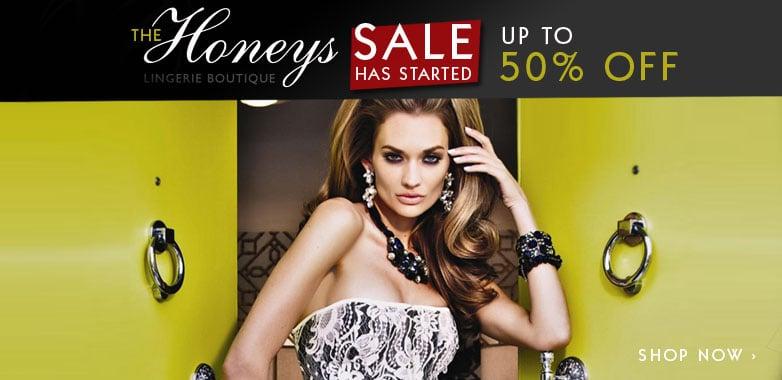 Honeys Lingerie Boutique Summer Sale