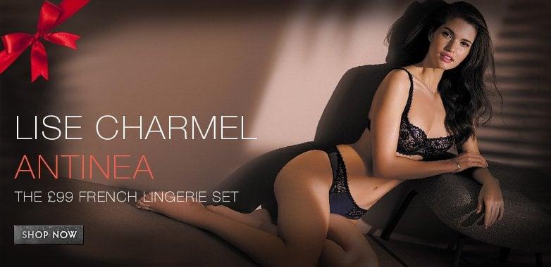 £99.00 French Lingerie Set - Anitnea Lise Charmel