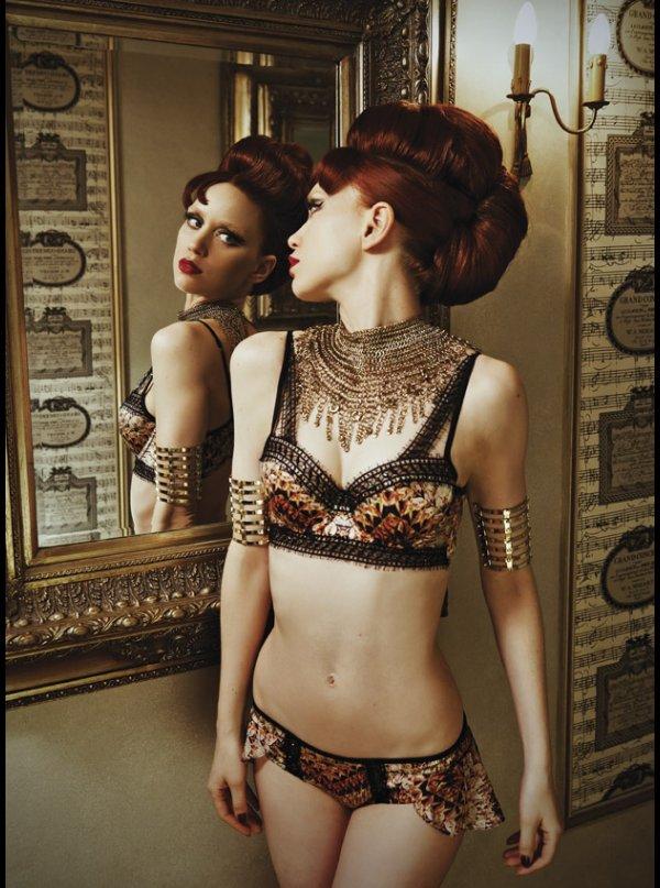 764728920 Pleasure State Couture - Cleopatre - Balconnet Contour Bra