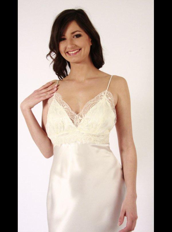... Liliana Casanova Paris Liliana Casanova – Montmatre – Long Silk  Nightdress ... d5f3ba22c