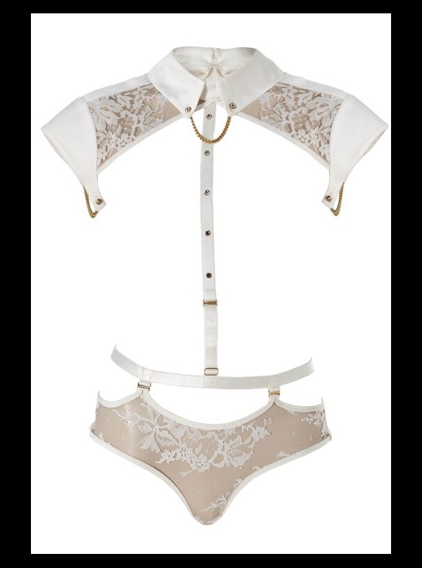 a9af36b533137 Tatu Couture - Nadya Collar with Detachable Thong and Suspenders