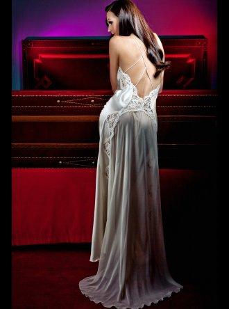 Jane Woolrich - Silk Nightdress - 7978