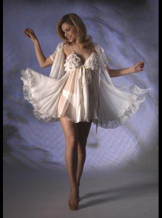 Jane Woolrich - Silk Babydoll Set - 3265