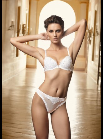 Lise Charmel Charm Eros LA98 White - Brief String 0098