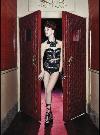 Pleasure State Couture - Scheherazade - Strapless Long Line Bra