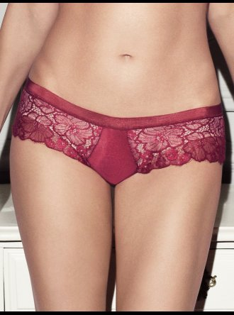 Wacoal Captivation Hipster Brief - Rosso