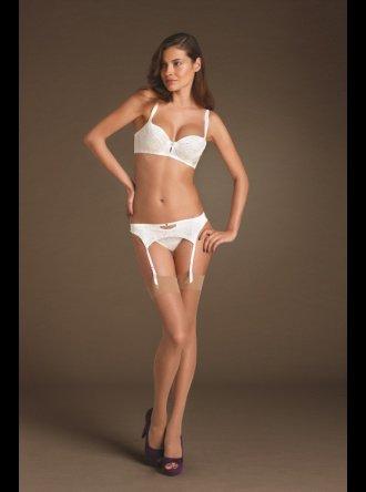 Pleasure State Couture - Mystic Pearl - Suspender Belt