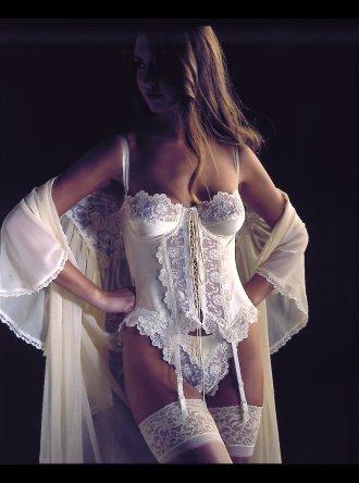 Jane Woolrich - Silk Thong - 8941