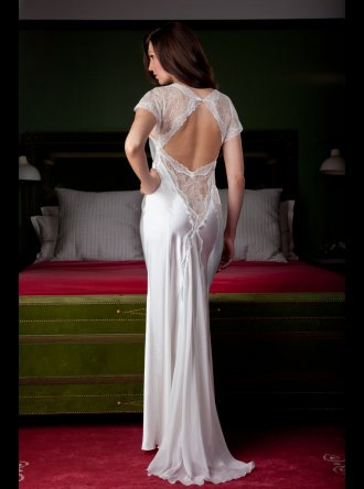 Jane Woolrich - Silk Nightdress - 8274