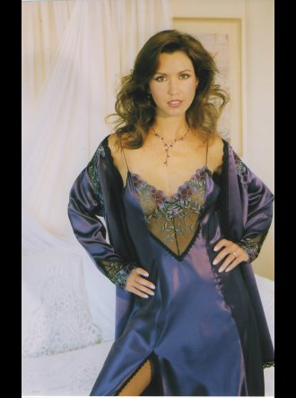Diki by Diane Rubach - Leila Silk Nightdress