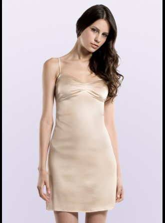 JULIANNE London JULIANNE - Samantha - Beige Silk Chemise