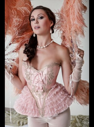 Jane Woolrich - Pink Corset - C.61.1