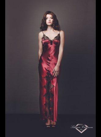 Liliana Casanova Paris Liliana Casanova – Chenonceau – Long Silk Nightdress