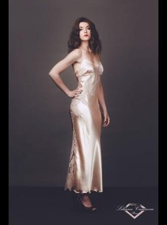 Liliana Casanova Paris - Cheverny - Long Silk Nightdress