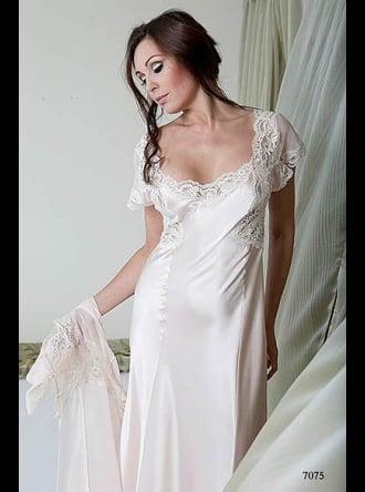 Jane Woolrich - Silk Nightdress - 7075