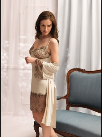 Vanilla Nightwear - Robe 2861