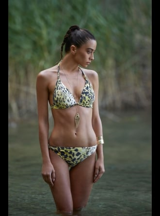 Forever Unique Swimwear and Beachwear Forever Unique - Asia Leopard Print Bikini