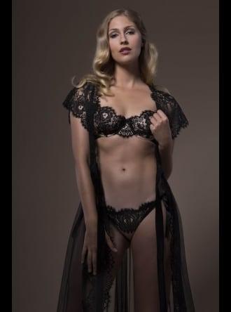 Jane Woolrich - Lacy Silk Bra - 3631