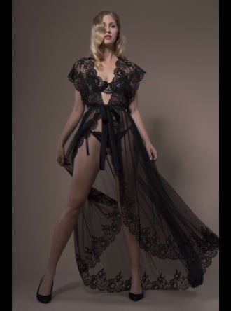 Jane Woolrich - Chantilly Lace Negligee 3683