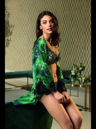 Lise Charmel - Dressing Floral - Dressing Aloe - Negligee