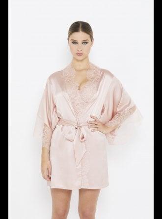 Katherine Hamilton - Ellianna - Evening Sand - Vintage Lace Robe