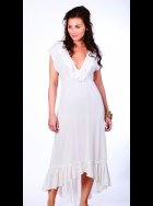 Mya Blue Beach - Carrie White Beach Dress