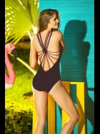 Phax - Cavalier Macrame Black Swimsuit XL