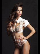 Tatu Couture - Nadya Collar with Detachable Thong and Suspenders
