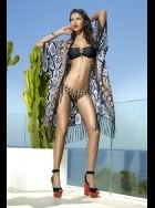 Forever Unique Swimwear - Havana Open Kaftan with Fringing