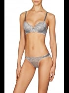 Pleasure State - Anais Genevieve  - Push Up Plunge Bra - Steel