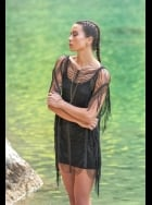 Forever Unique - Jewel - Black Beach Dress