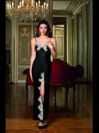 Lise Charmel - Splendeur Soie - Black Long Silk Nightdress