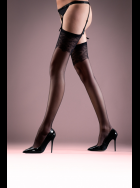 Bluebella - Black Lace Top Stockings