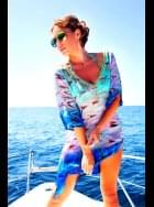 Lindsey Brown Luxe - Resort Wear - Mauritius - Silk Kaftan