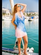 Lindsey Brown Luxe - Resort Wear - Zanzibar - Mini Dress Style Kaftan