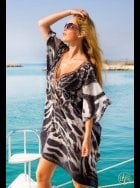 Lindsey Brown Luxe - Havana - Animal Print Kaftan