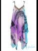 Mya Blue Beach MyaBlueBeach - TARIFA - Tie Dyed Designer Beach Dress