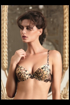 Lise Charmel - Topaze Sauvage A38 - Smooth Cup Plunge Bra
