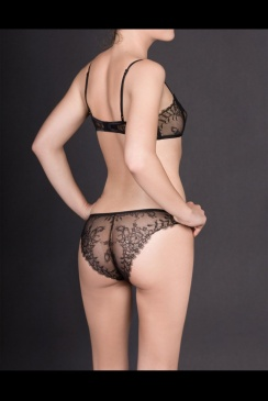 Maison Close - Villa Satine - Lace Back Panty