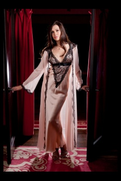 Jane Woolrich - Silk Negligee - 8286