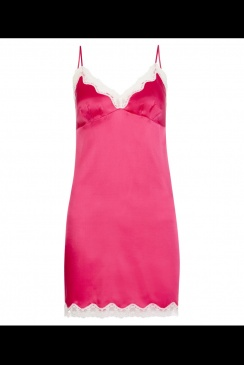 JULIANNE - Ava -  Ruby Rose Silk Chemise