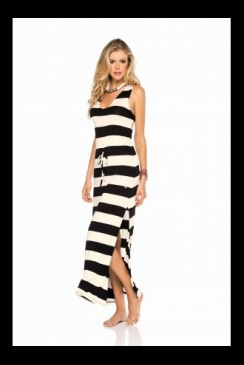 PHAX - Black and Cream - Beach Dress