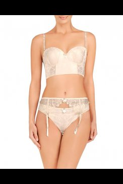 Pleasure State - August Skye - Strapless Long Line Bra