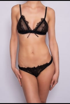 Sonata Rapalyte - Black Orchid - Classic Knicker