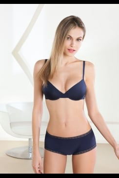 Epure - Satin Seduction - Molded Cup Bra